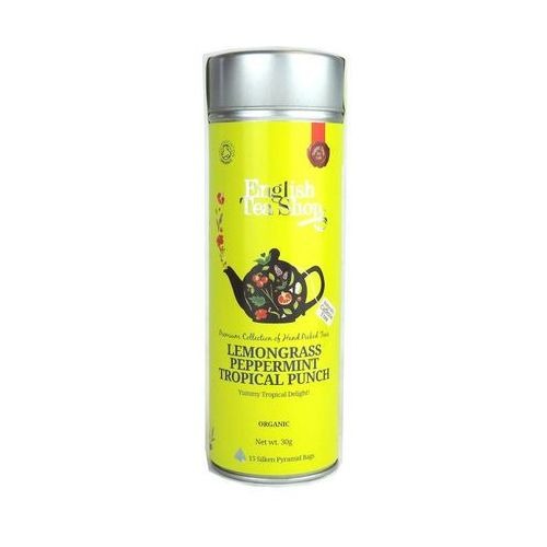 English tea shop Ets lemongrass peppermint tropical punch 15 torebek
