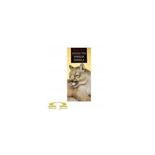 Czekolada Stainer 70% z wanilią, 8E8E-16674