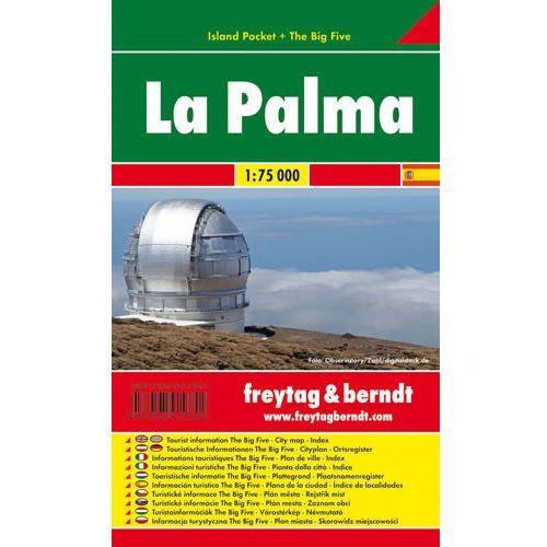 La Palma mapa 1:75 000 Freytag & Berndt (2011)