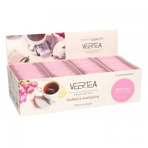 Veertea White Tea & Rose 100 saszetek