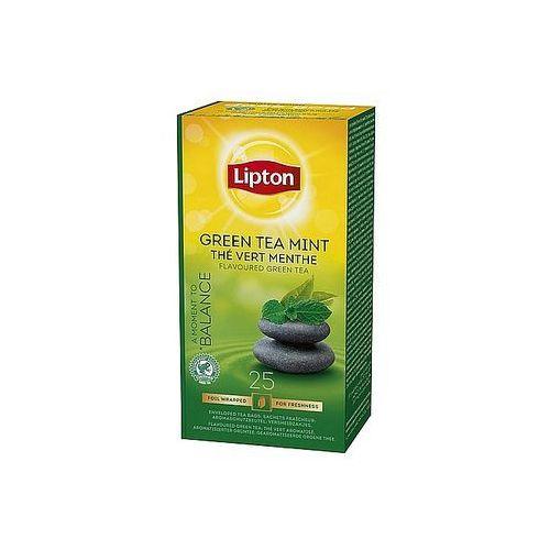 Herbata Lipton Green Tea Mint, 25 torebek foliowanych
