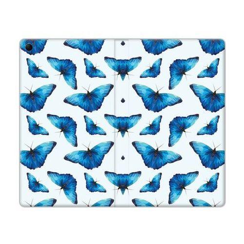 Flex book fantastic - lenovo tab 3 7.0 (a7-30) - etui na tablet flex book fantastic - niebieskie motyle marki Etuo.pl