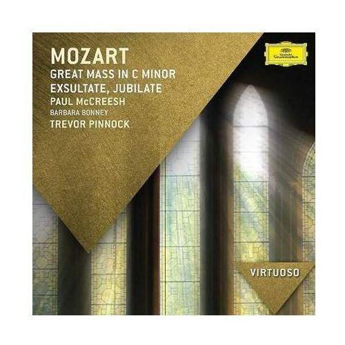 Universal music / deutsche grammophon Mozart:great mass in c minor (virtuoso) - paul mccreesh (płyta cd)