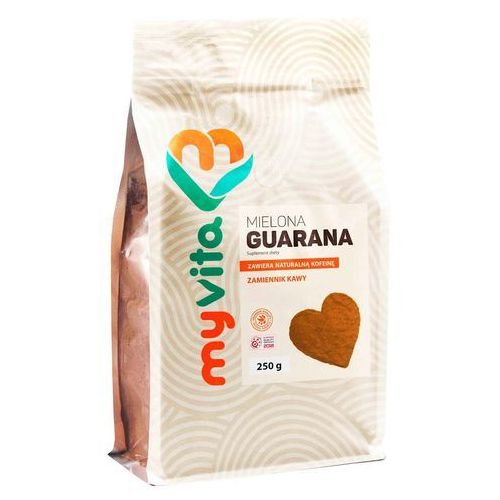 Proness myvita Guarana, zamiennik kawy, proszek, myvita, 250g
