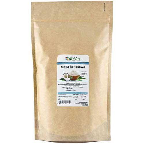 Mąka kokosowa (zamiennik tradycyjnej mąki) 1 kg marki Myvita