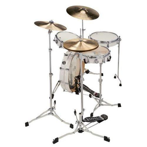 Drum workshop zestaw bębnów performance low pro kit white marine