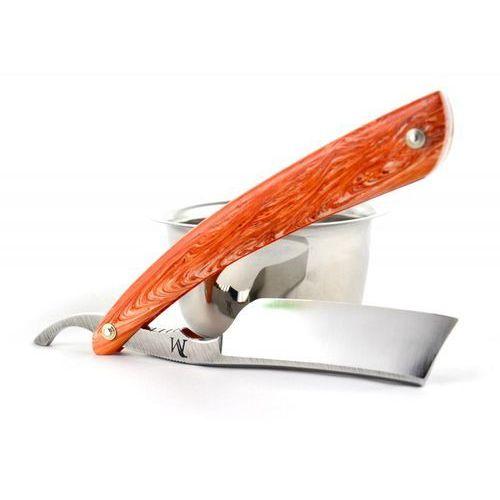 Brzytwa koraat-knives 7/8 juma pomarańcz, wklęsłość near wedge, kolczasty grzbiet marki Koraat-knives, austria