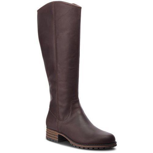 Oficerki CLARKS - Marana Trudy 261372254 Dark Brown Leather