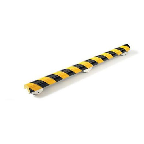 Profil ostrzegawczy i ochronny Knuffi®,typ A+, dł. 500 mm, przekrój: ćwierćkoło, duże