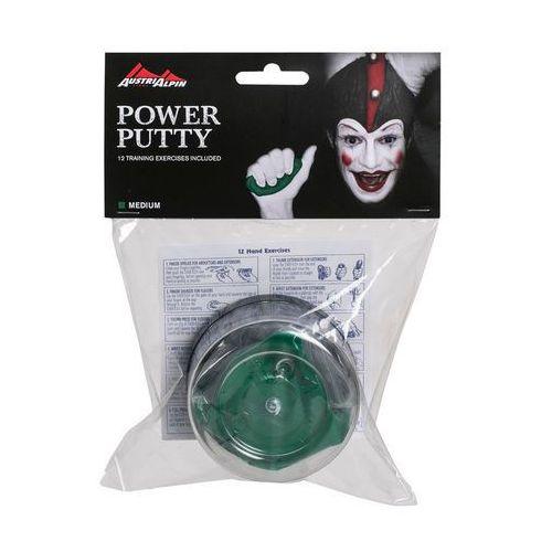 AustriAlpin Power Putty Trenażer dłoni mittel zielony Trenażery dłoni