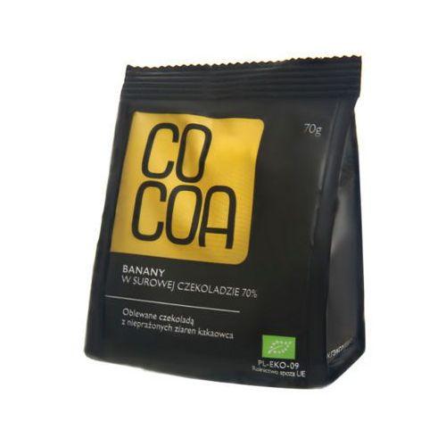 70g banany w surowej czekoladzie bio marki Cocoa