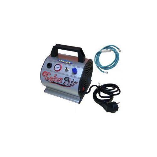 Mini kompresor z zbiornikem ciśnieniowym Fengda® AS-176, produkt marki Aerograf Fengda