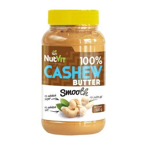 Ostrovit nutvit 100% cashew butter smooth - 500g