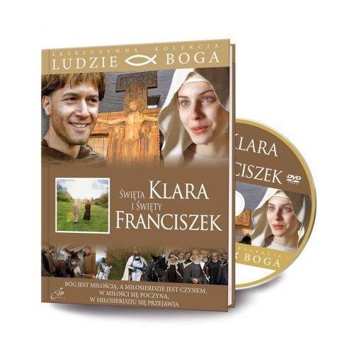 Ludzie boga. św. klara, św. franciszek dvd+książka marki Rafael