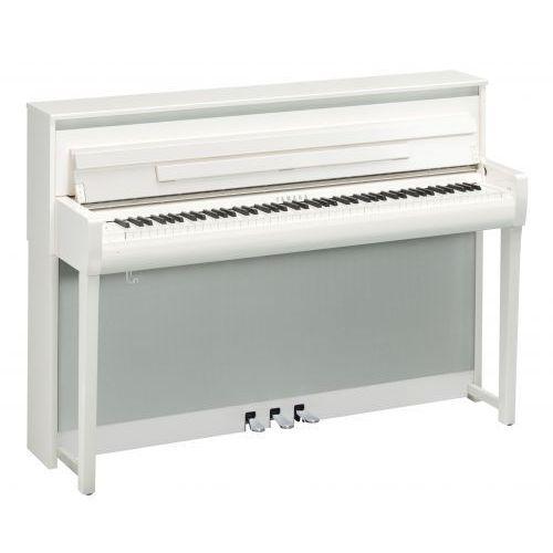 Yamaha CLP 685 WH Clavinova pianino cyfrowe (kolor: white polished / biały połysk)