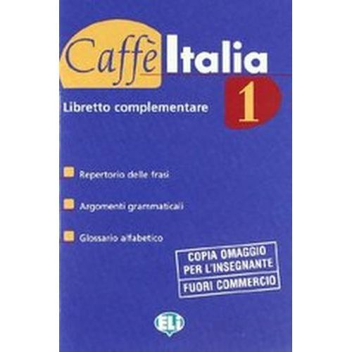 Caffe`Italia 1 studente+libretto (9788853601445)