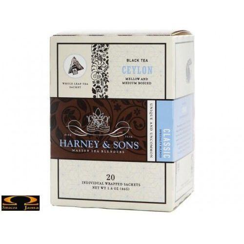 Herbata Harney & Sons Ceylon, kartonik piramidki 20 szt.