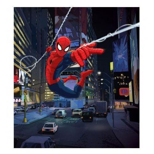 Spiderman w mieście - licencjonowana tapeta do pokoju dziecka - oferta [0514d5ac8ff38468]