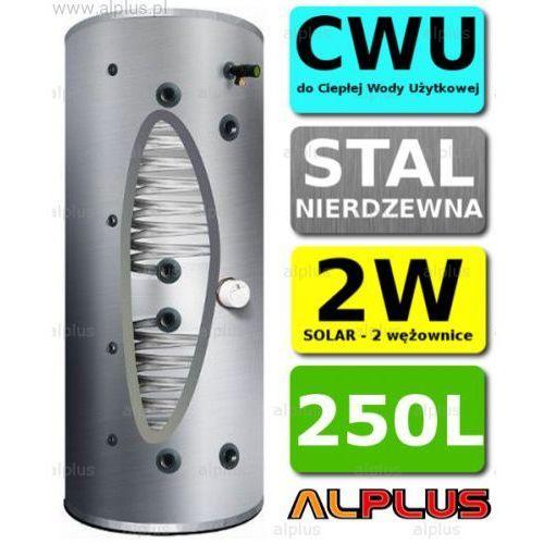 Joule Bojler cyclone 250l 2-wężownice 2w, klasa energetyczna b, nierdzewka wymiennik podgrzewacz cwu wysyłka gratis