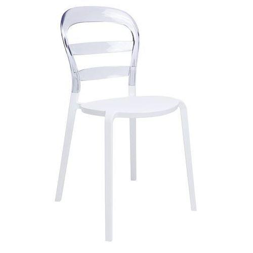 King home Krzesło carmen transparentne pc-070.clear - - sprawdź kupon rabatowy w koszyku