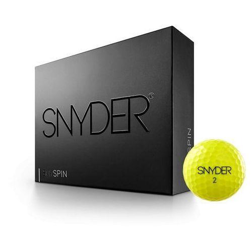Snyder golf Pilki golfowe neon yellow (4270000435942)