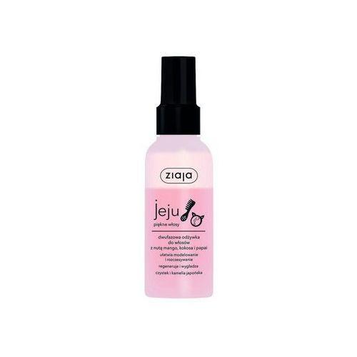 Ziaja jeju różowe dwufazowa odżywka do włosów 125ml (5901887045236)