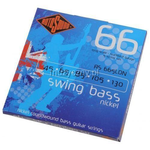 rs-665ldn swing bass 66n 5 struny 45-130 marki Rotosound
