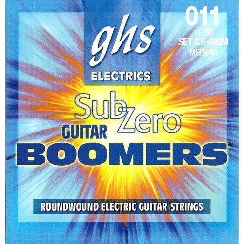 Ghs sub zero boomers struny do gitary elektrycznej, medium,.011-.050