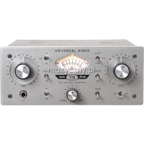 710 twin-finity przedwzmacniacz marki Universal audio