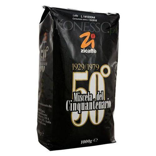 Zicaffe Cinquantenario - kawa ziarnista 1kg / cartyfikat INEI