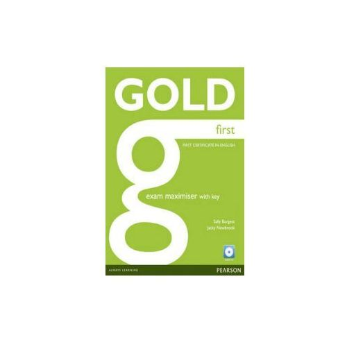 Gold First Exam Maximiser with key (2012)