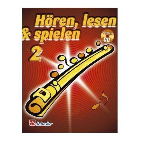 Hören, lesen & spielen, Schule für Flöte, m. Audio-CD. Bd.2