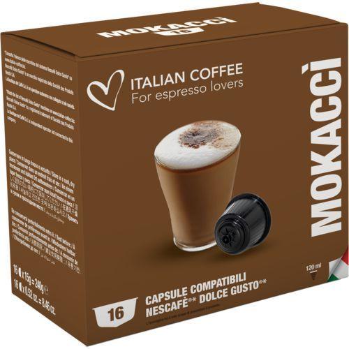 Mokacci italian coffee kapsułki do dolce gusto – 16 kapsułek marki Nespresso kapsułki