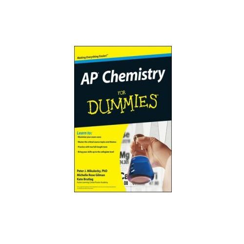 AP Chemistry For Dummies (9780470389768)