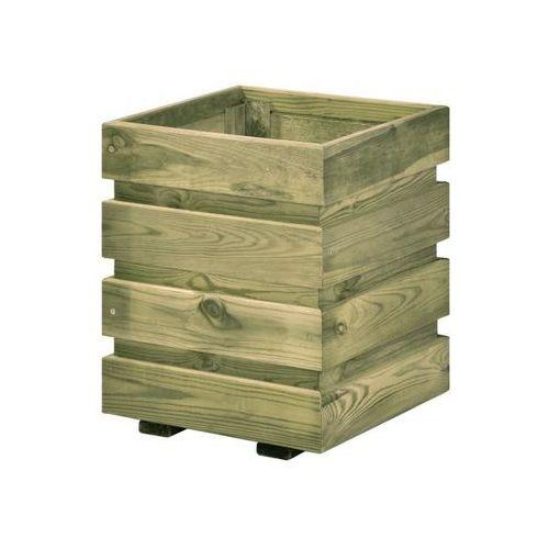 Sobex Donica ogrodowa fix 30 x 30 x 37 cm drewniana