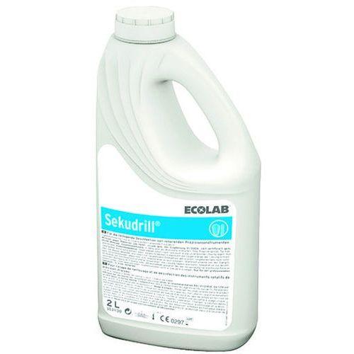 Ecolab Płyn do dezynfekcji i mycia narzędzi medycznych combi pack sekudrill 2 litry + 60 ml