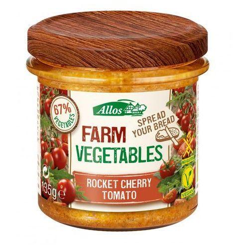 Allos Pasta warzywna z pomidorami cherry i rukolą bio 135 g - (4016249129156)