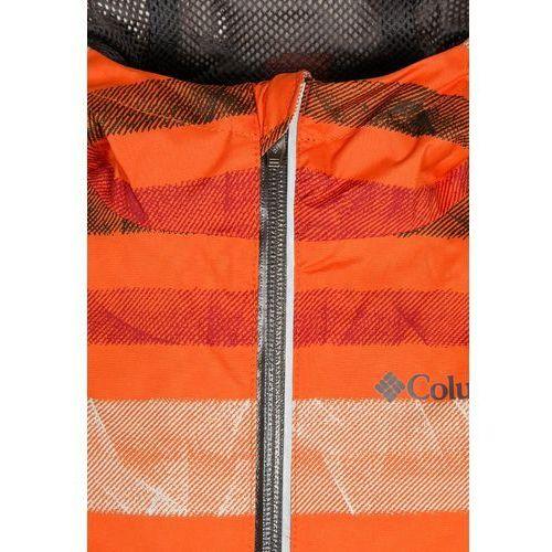 Columbia SPLASH MAKER III Kurtka przeciwdeszczowa orange - produkt z kategorii- kurtki dla dzieci