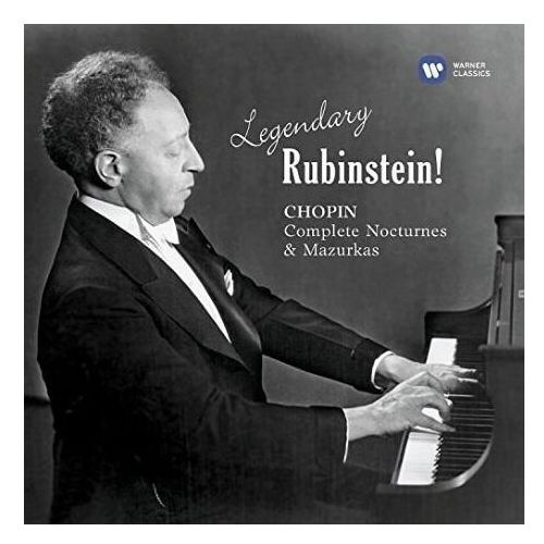 Warner music Legendary rubinstein - chopin - rubinstein (płyta cd) (5099973025023)