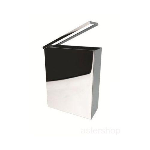 Kosz na śmieci 25l, wiszący, prostokątny, połysk 125115041 - oferta [652f23793711d20c]