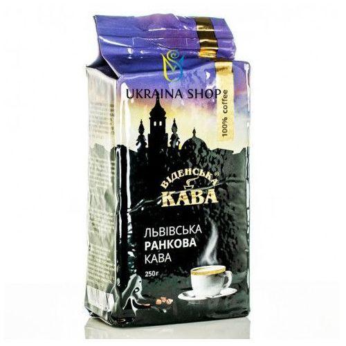 """Wiener kaffee Kawa prawdziwa prażona mielona """"poranna"""" 250 g"""