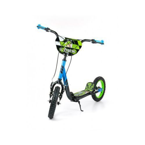 Milly Mally Hulajnoga Scooter Extreme Crazy green-blue (hulajnoga)