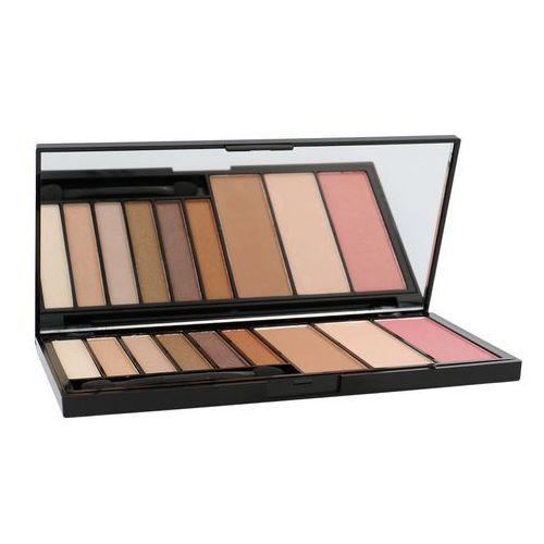 Makeup Revolution Euphoria Palette Bronzed Zestaw do makijażu oczu i twarzy 1op., 7340411