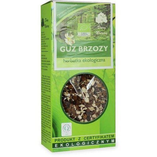 Herbatka guz brzozy bio 50 g - dary natury marki Dary natury - herbatki bio