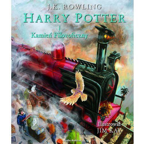 Harry Potter i kamień filozoficzny-ilustrowany - Wysyłka od 3,99 - porównuj ceny z wysyłką (9788380081185)