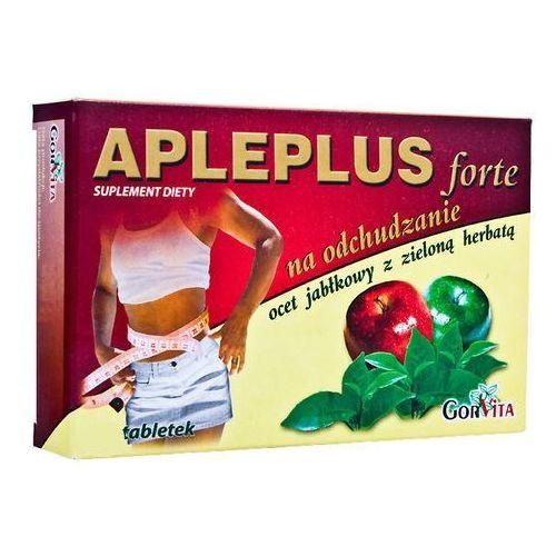 Apleplus Forte Ocet jabłkowy z zieloną herbatą x 30 kapsułek