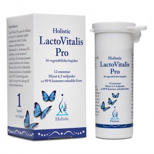 Holistic LactoVitalis PRO probiotyk 12 szczepów 30 kaps. (7350012330507)