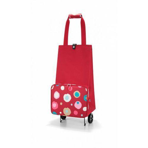 Reisenthel FOLDABLETROLLEY Wózek na Zakupy - Funky Dots 2 (wózek na zakupy)