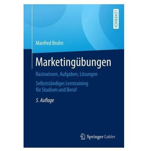 Marketingübungen Bruhn, Manfred