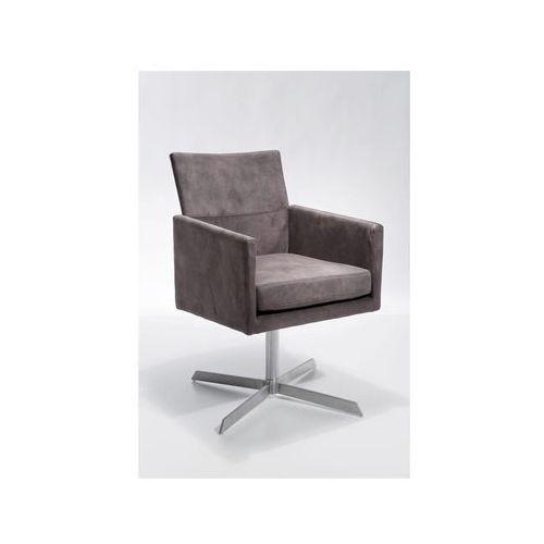 Retro Design Dialog Fotel Obrotowy Brązowy Tkanina (76440), marki Kare Design do zakupu w sfmeble.pl